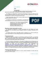 Hoja Datos Vih Guatemala