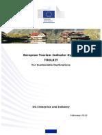 UE Indicadores Destinos Sustentables Bien Pal Rollo de Los Impactos