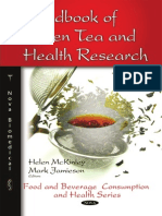 Book of Green Tea and Health Research
