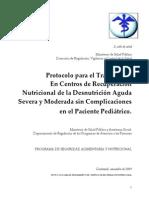 Protocolo Para Centros de Recuperacion Nutricional