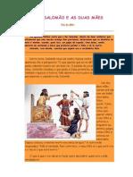 o Rei Salomão e as Duas Mães