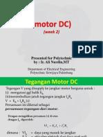 BAB 2 motor DC