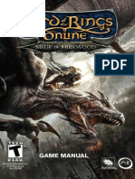Lotro Mines of Moria Manual