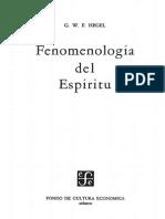 Hegel, Georg Willhelm Friedrich - Fenomenologia Del Espiritu (Autoconciencia)