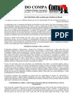 BOLETIM DO COMPA Nº 1 - Uma leitura Socialista Libertária sobre as lutas que eclodem no Brasil