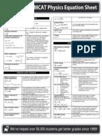 MCAT Physics Formula.pdf