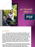 my teacher identity