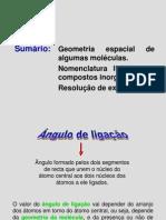Nomenclatura de Algumas Moléculas