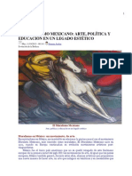 El Muralismo Mexicano, Ximena Jordán. Scaner Cultural