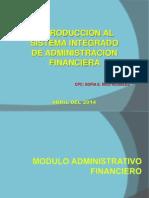 Modulo Administrativo Siaf 2014