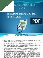 Nic 7 Estado de Flujo de Efectivo