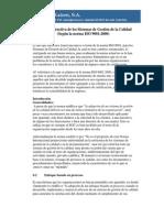 Critica Constructiva de Los Sistemas de Gestion de La Calidad Bajo La Norma ISO 9001