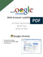 Google Chrome Ppt