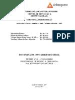 ATPS Contabilidade Geral 2