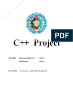 PROJECT C++