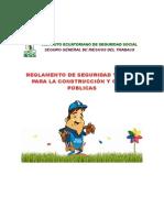 Reg. Seguridad y Salud Obras Publicas