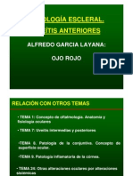 14. Uveitis anterior (patología escleral)