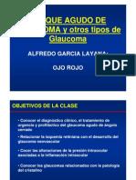 15. Glaucoma Agudo y Otros