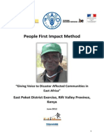FAO Kenya East Pokot Report June 2012