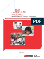 Marco Curricular 2da Versión Para El Diálogo_abril 2014