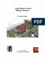Parmly Billings Library Feasibility Study May 18, 2009