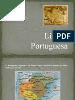 Apresentação lingua portuguesa