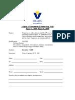 Pfaffenweiler Trip Application