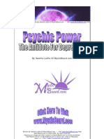 Practical Uses Of Healing with Psychic Powers  - Free eBook