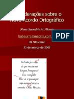 Palestra Iel2009