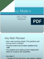 key math 3