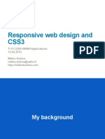 20130312 Responsive Web Design and Css3