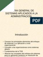 Teoria General de Sistema (1)