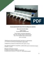 Manual Floculador Test de Jarras 6 Puestos L-YARETH QUIMICOS LTDA