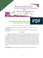 EPRA International Journal of Environmental Economics, Commerce and Educational Management-Print ISSN