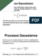 Procesos Gaussianos