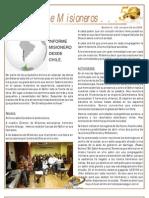 boletin 130 INFORME MISIONERO DE CHILE OCT 09