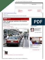 Uber, La App Que Molesta a Los Taxistas Del Mundo