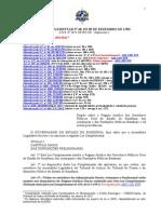 LC n. 68 - Regime Jurídico Dos Servidores de RO - Atualizado Até LC n. 694-2012