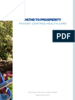 Patient Centred Health Care