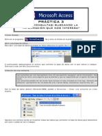 ACCESS Practica 3
