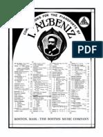 Albeniz - Leyenda