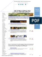 World of Warcraft top 100 - Private servers, Guides, Guilds, free servers.pdf