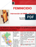 Ppt - Feminicidio Tacna