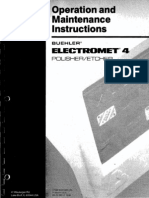 Buehler Electromet 4