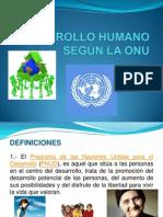 Indice Desarrollo Humano- OnU