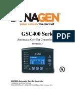 Man-0076r3.1, Gsc400 User Manual