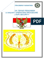 Sop Security 2012