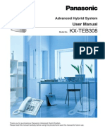 KX-TEB308 User Manual