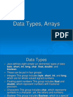 Data Types Chapter 3