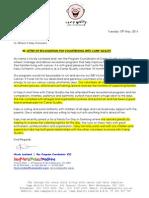 letter of recognition for kassy schramm
